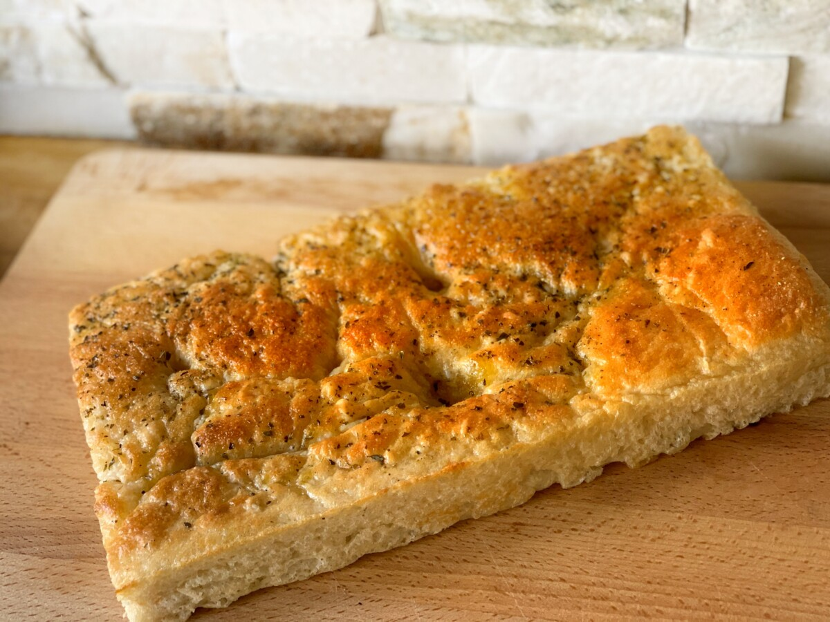 Easy 1 Hour Focaccia Bread With Herbs Recipe Munchyesta
